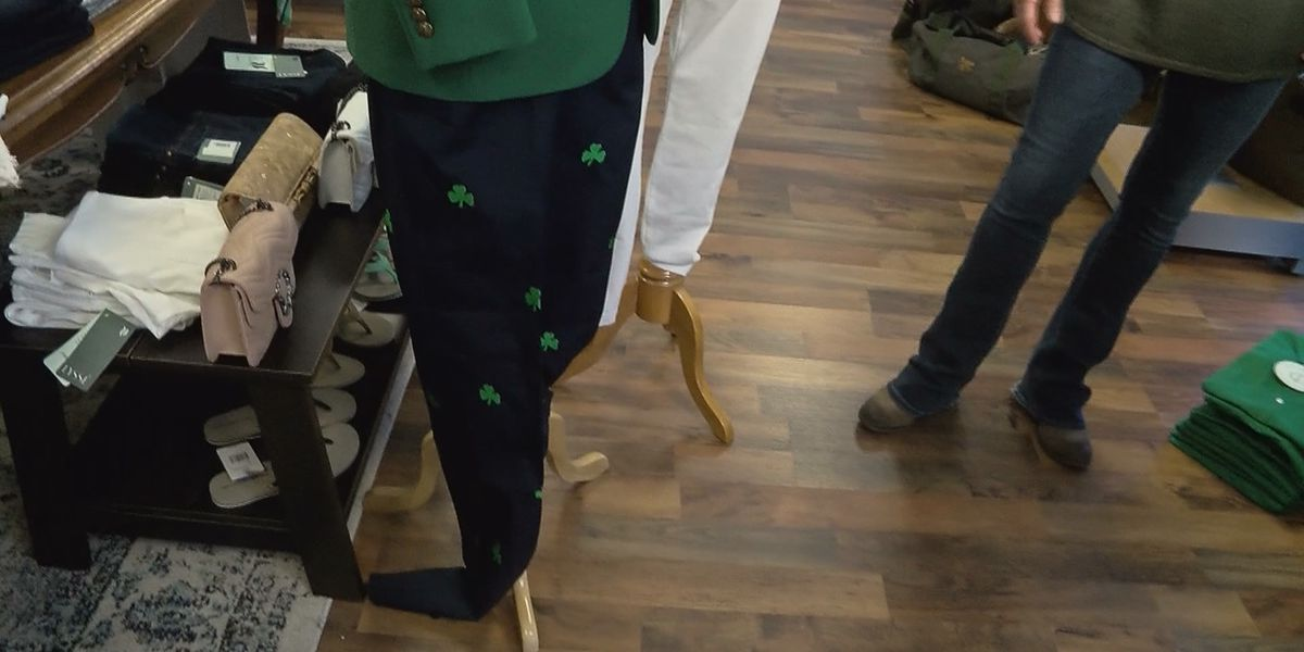 Local clothier offers St. Patrick's Day style tips