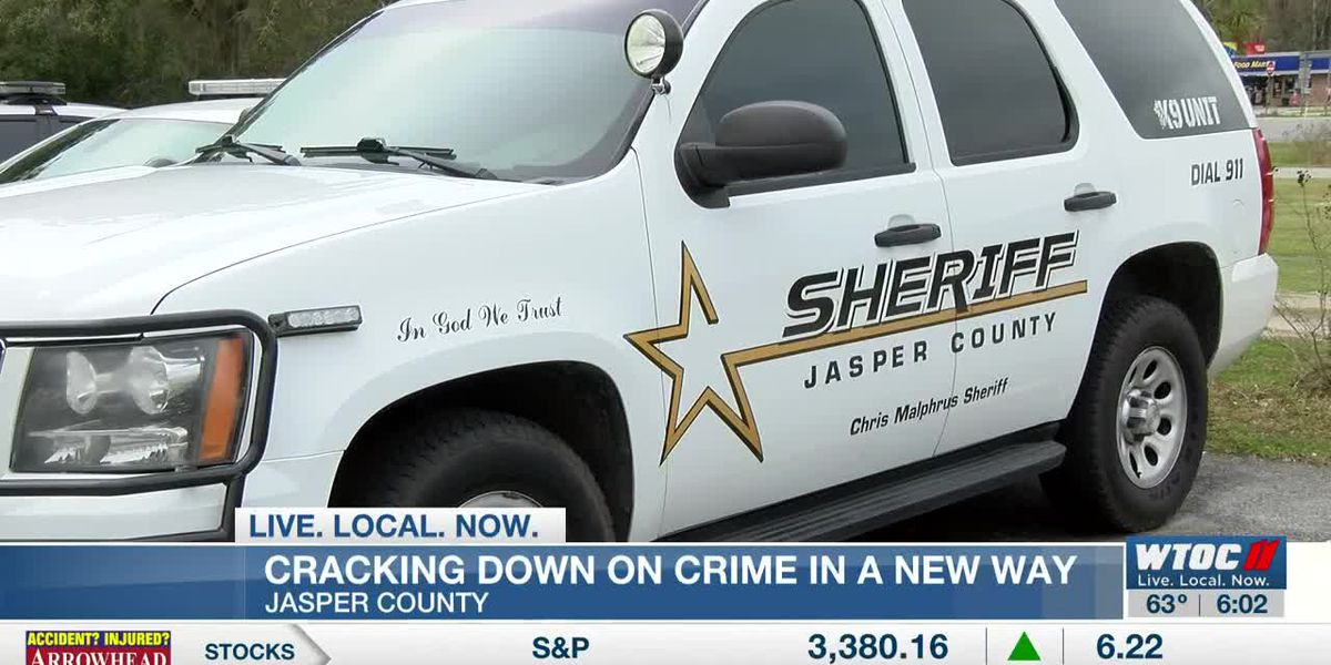 Jasper County cracking down on crime in a new way