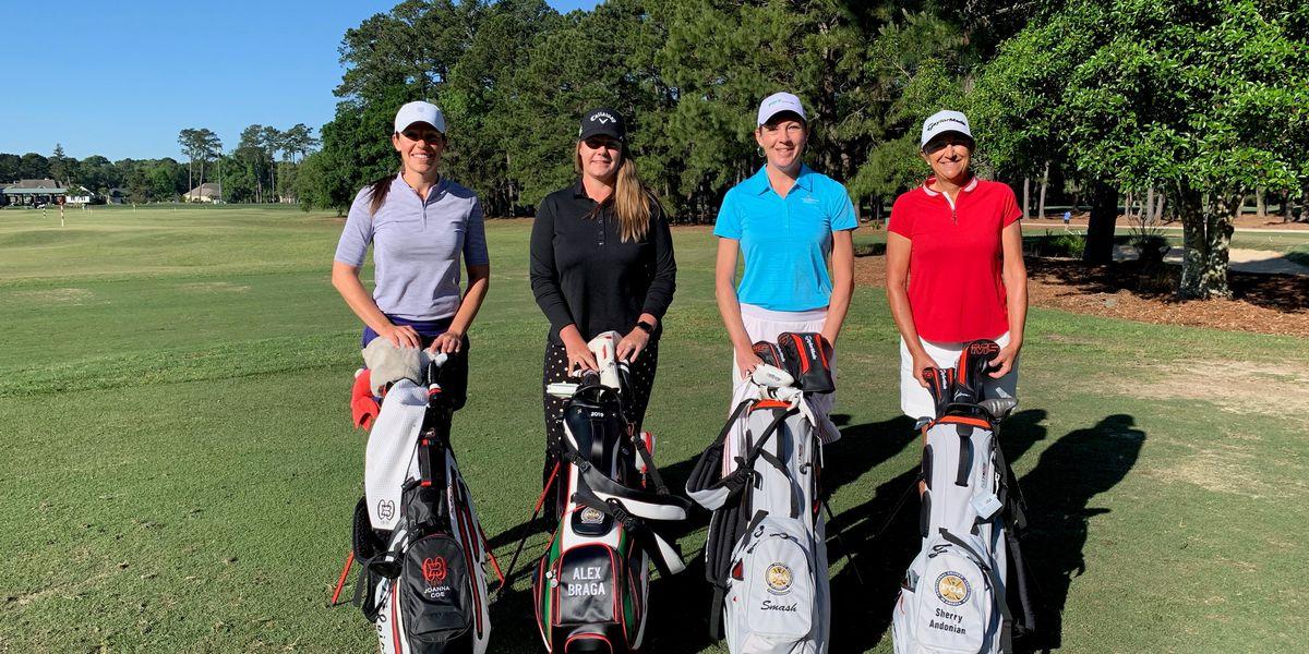 Four women make history at PGA Professional Championship