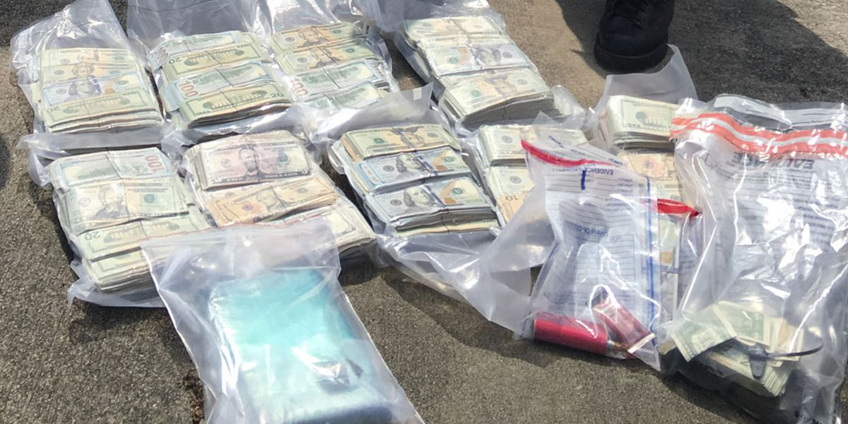 Joint investigation leads to seizure of heroin, $333K cash in McIntosh County