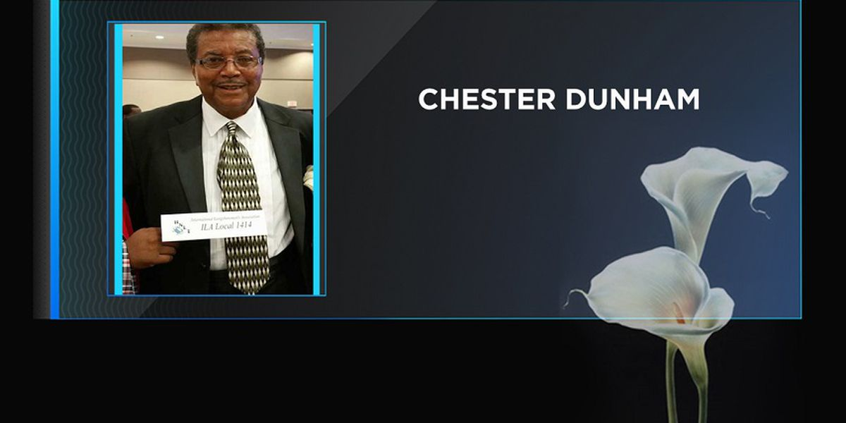 Community activist Chester Dunham has passed away