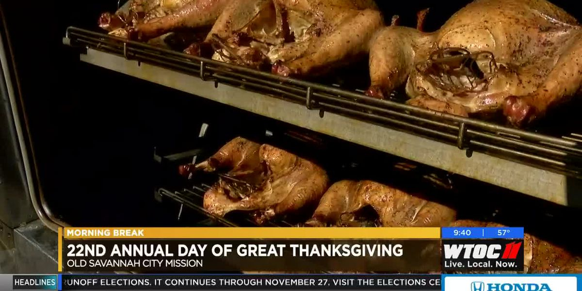 Old Savannah City Mission's 22nd annual Day of Great Thanksgiving