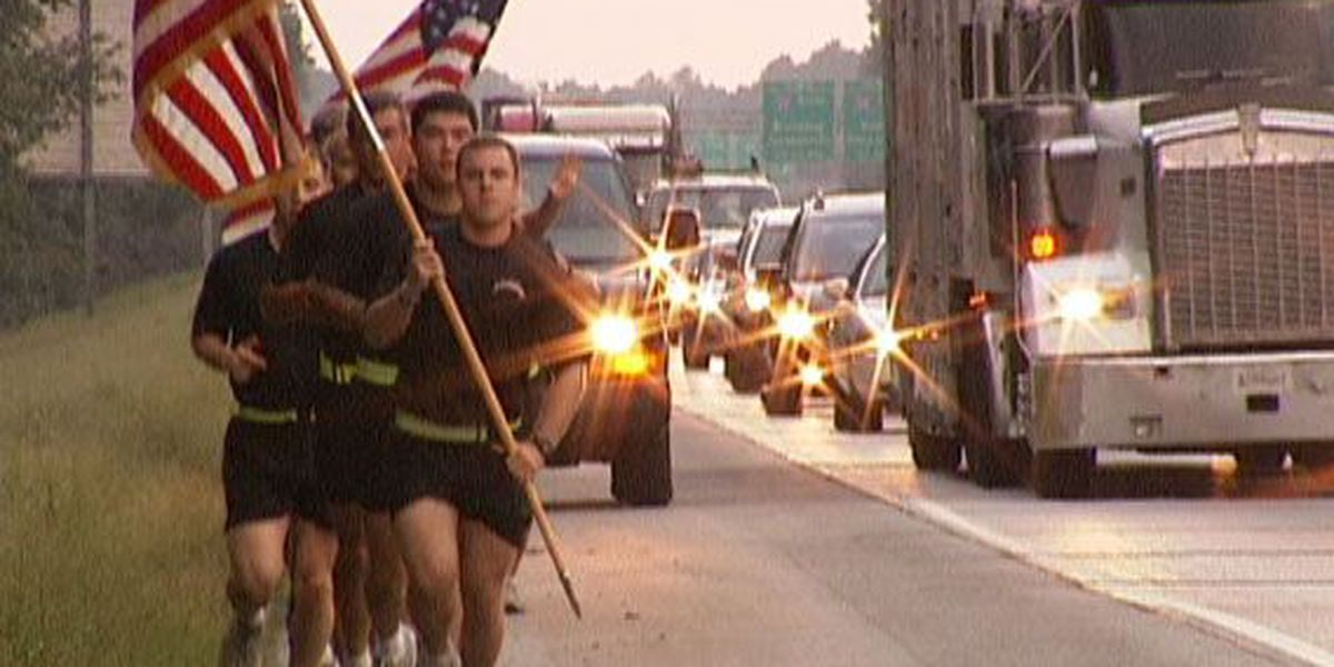 Rangers run to commemorate 9-11