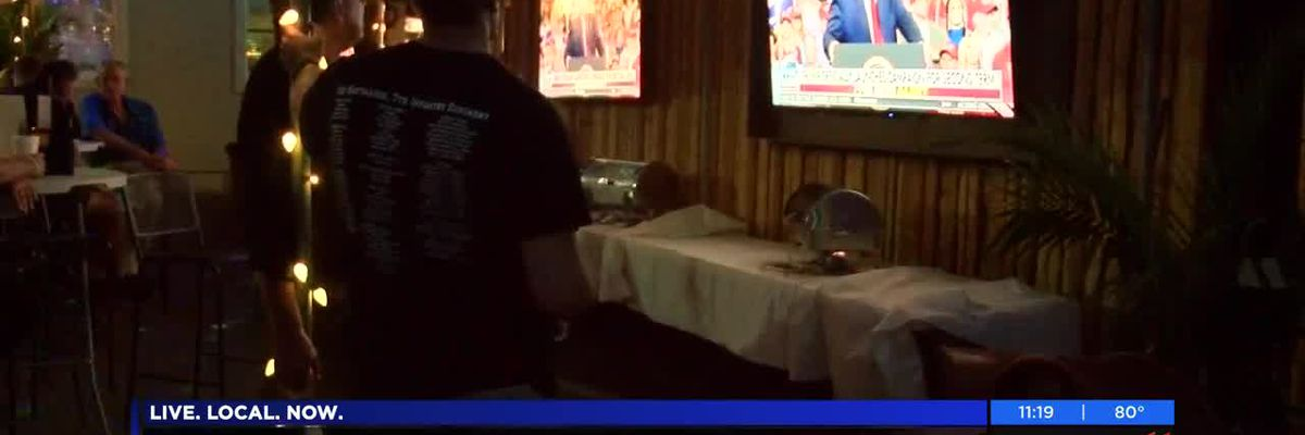 Re-election launch watch party held Tuesday in Savannah for President Trump