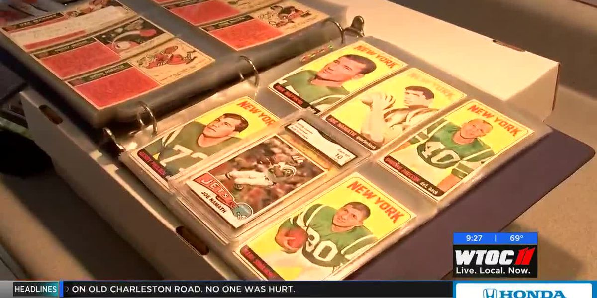 Chatham Co. sheriff's extensive baseball card collection