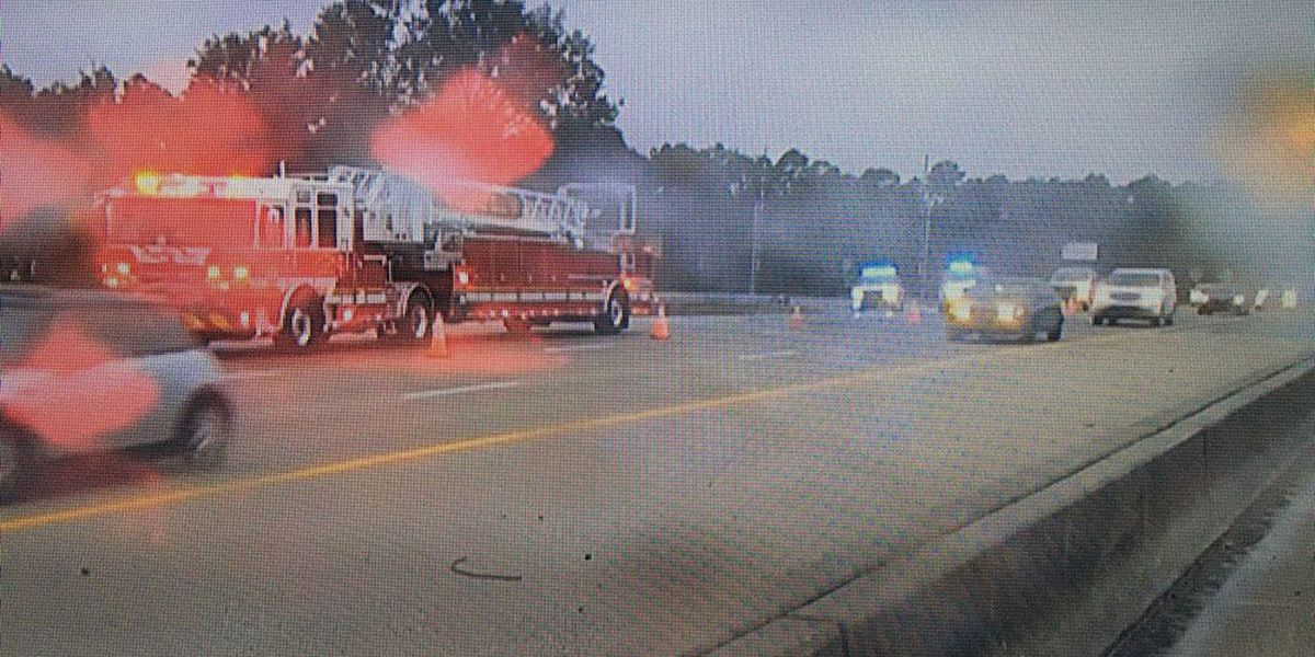 Crash cleared on eastbound I-16 ramp to I-95 North