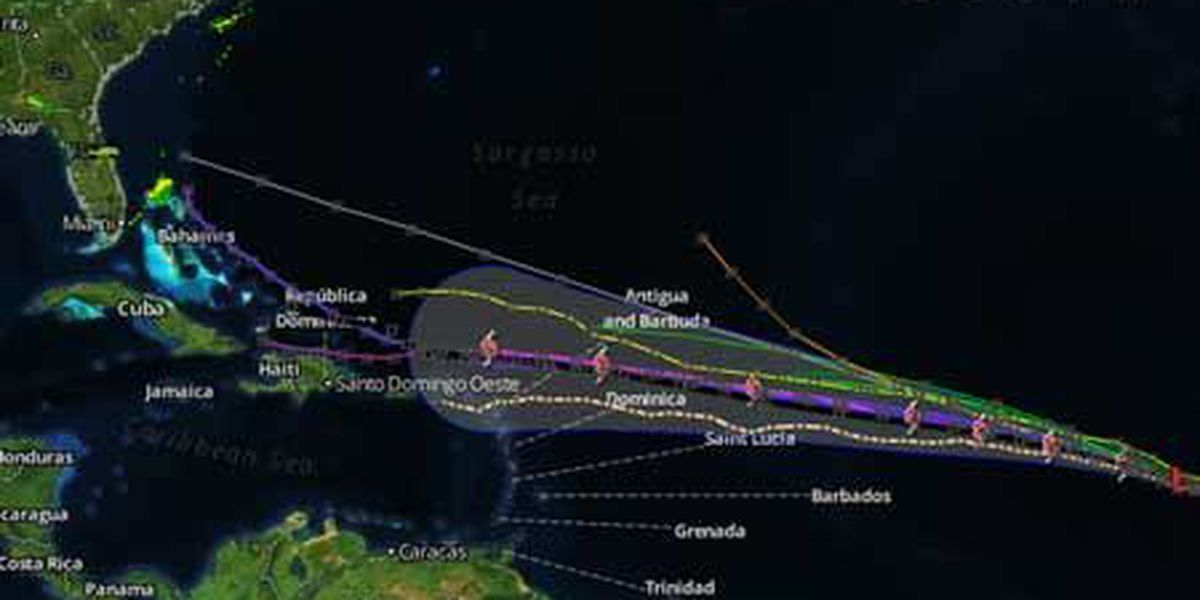 New tropical depression forms in eastern Atlantic