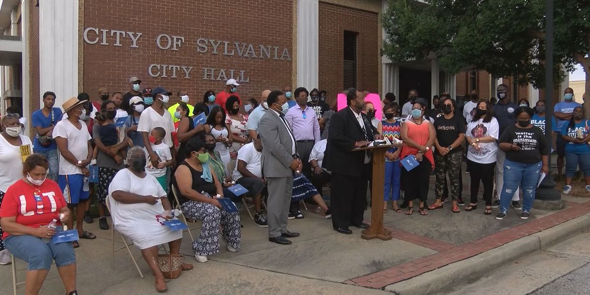 Lewis family, protesters call for more police training