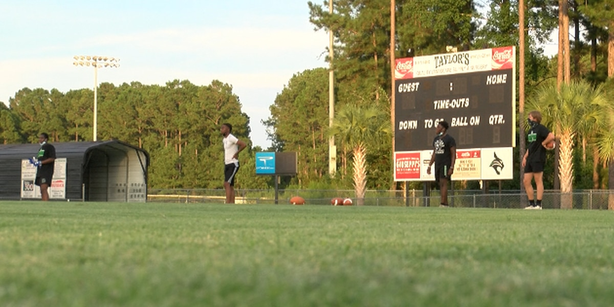 Athletes return to practice in Beaufort County