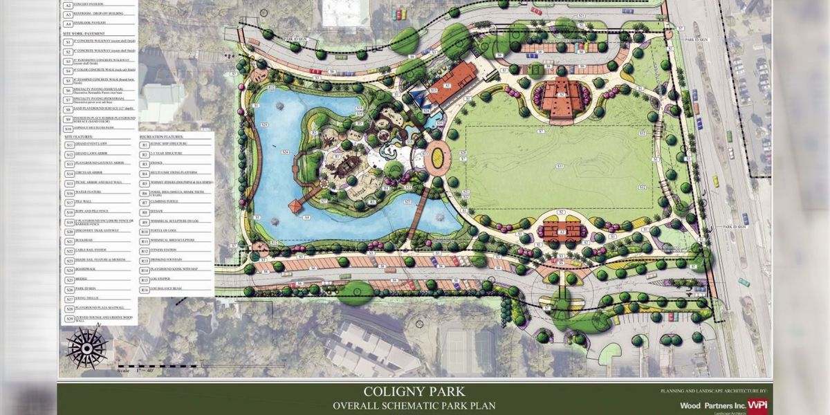 Groundbreaking being held for new park on Hilton Head
