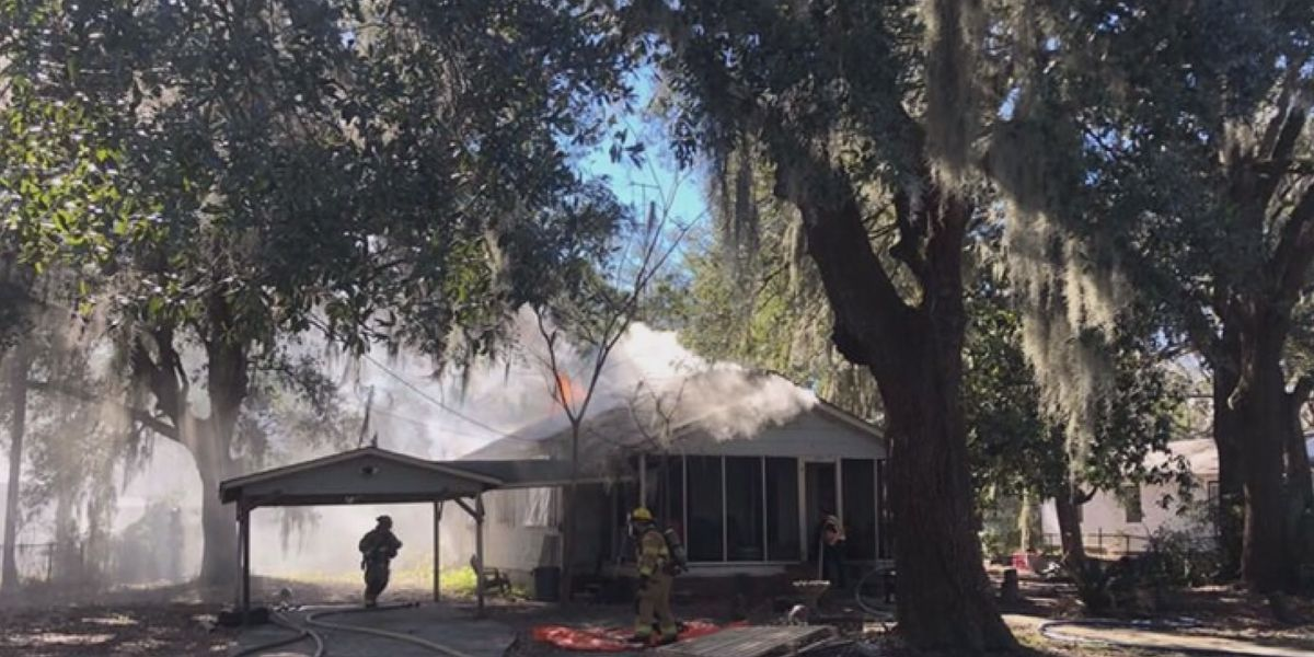 Fire displaces Lowcountry family of four