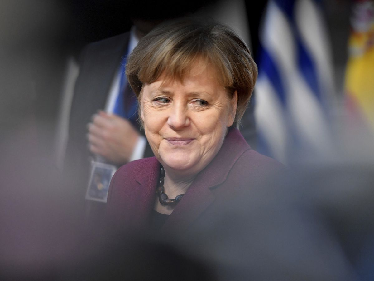 The Latest: Merkel: No Brexit changes, maybe reassurances