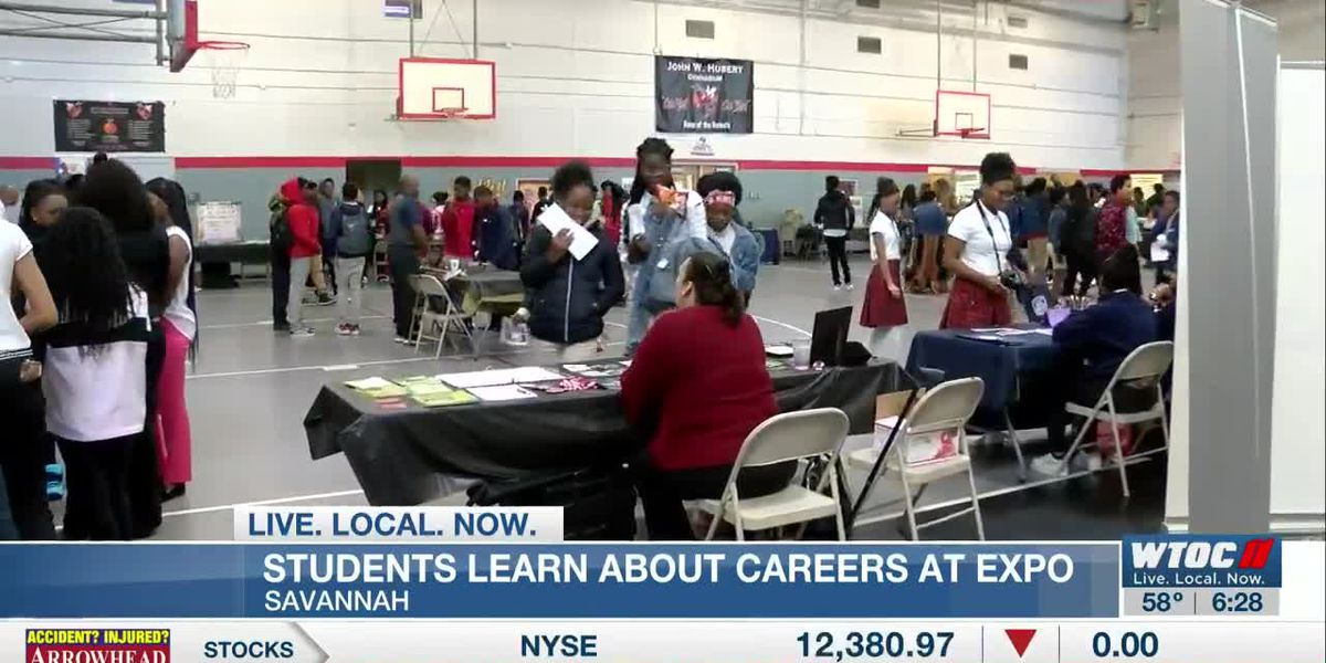 Hubert Middle School offers career expo for students