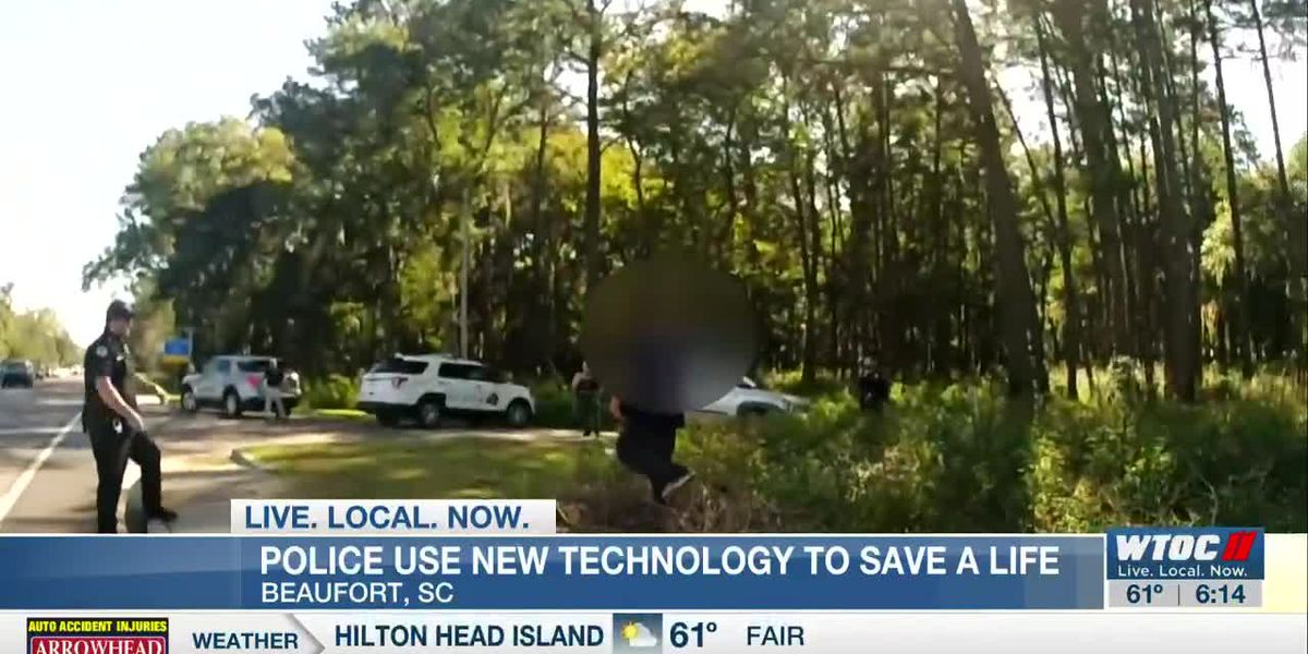 Police use new technology to safely subdue subject