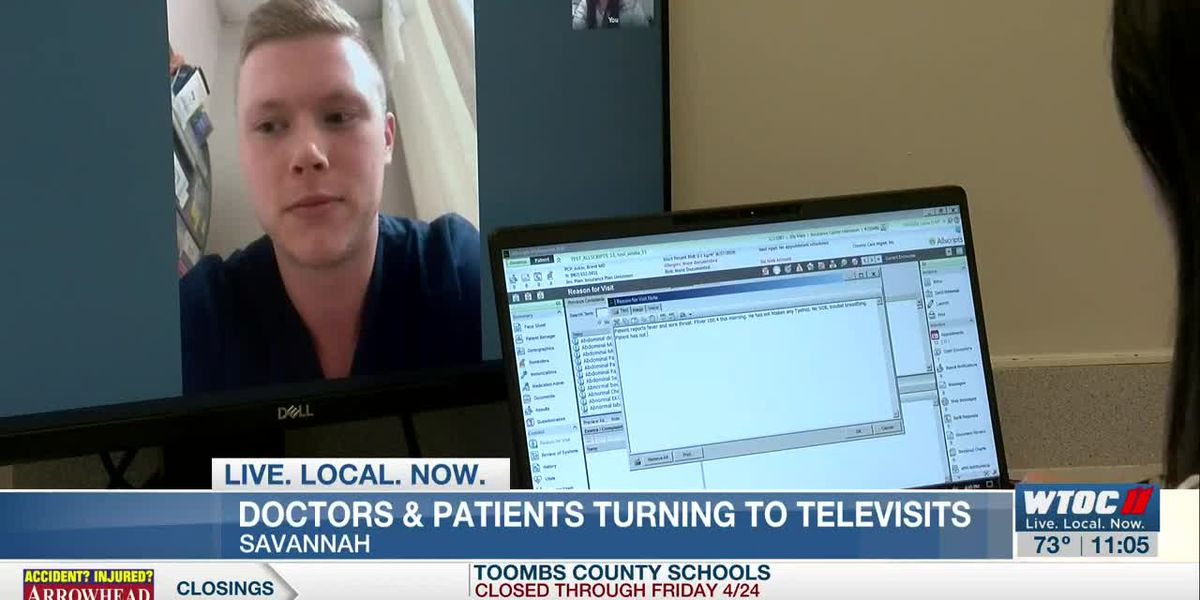 Savannah doctors, patients turning to televisits