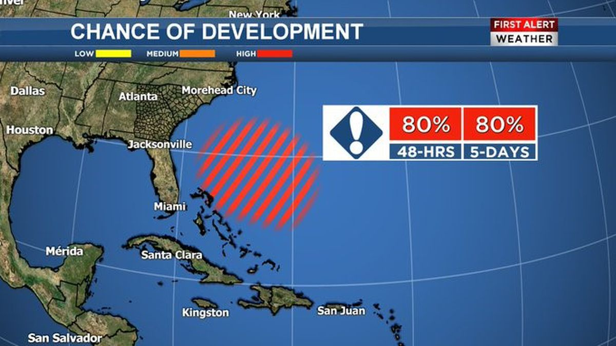 Invest 90-L: High chance of becoming 'Arthur' this weekend