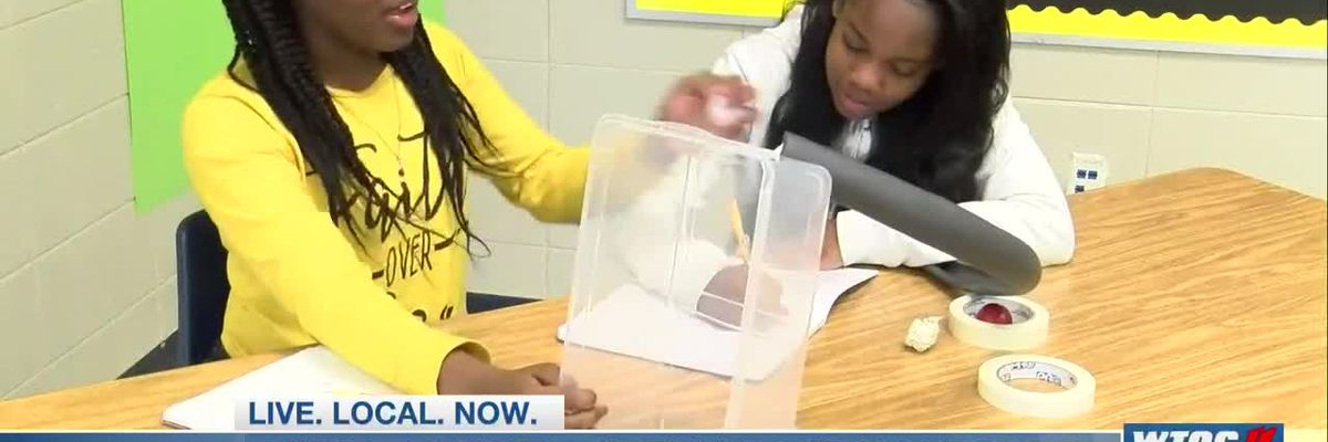 New STEM program at Toombs Co. Middle off to great start
