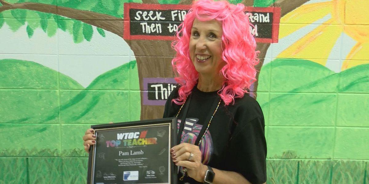 Top Teacher: Pam Lamb