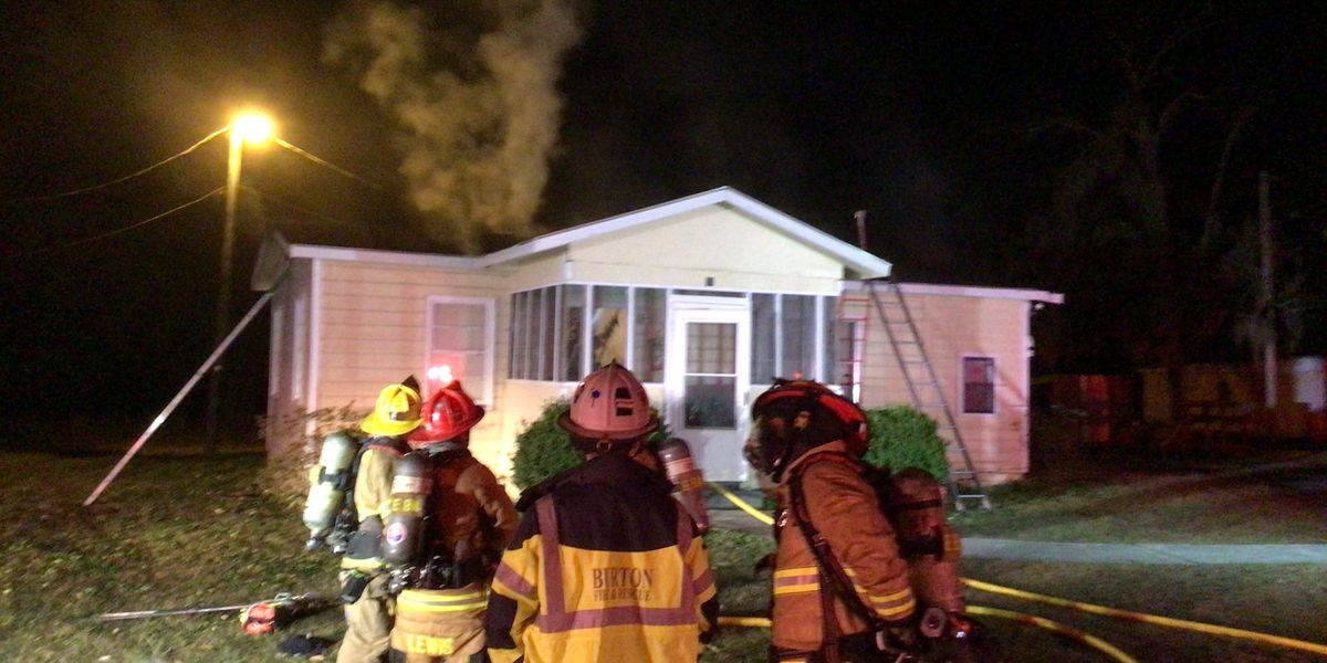Resident displaced by fire on Goethe Hill Rd. in Beaufort Co.