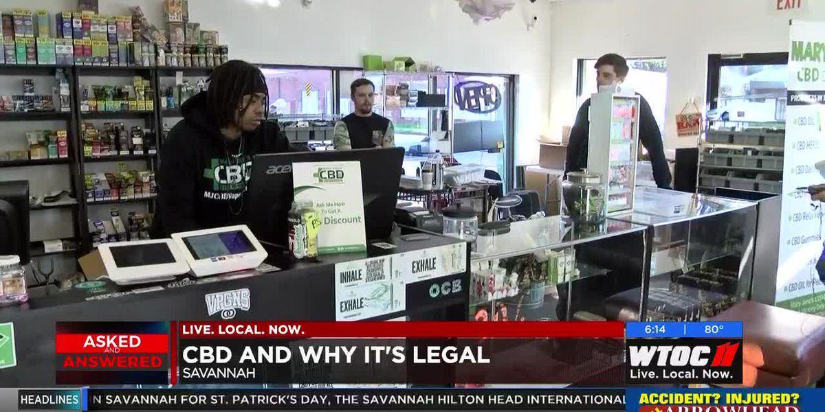 CBD and why it's legal