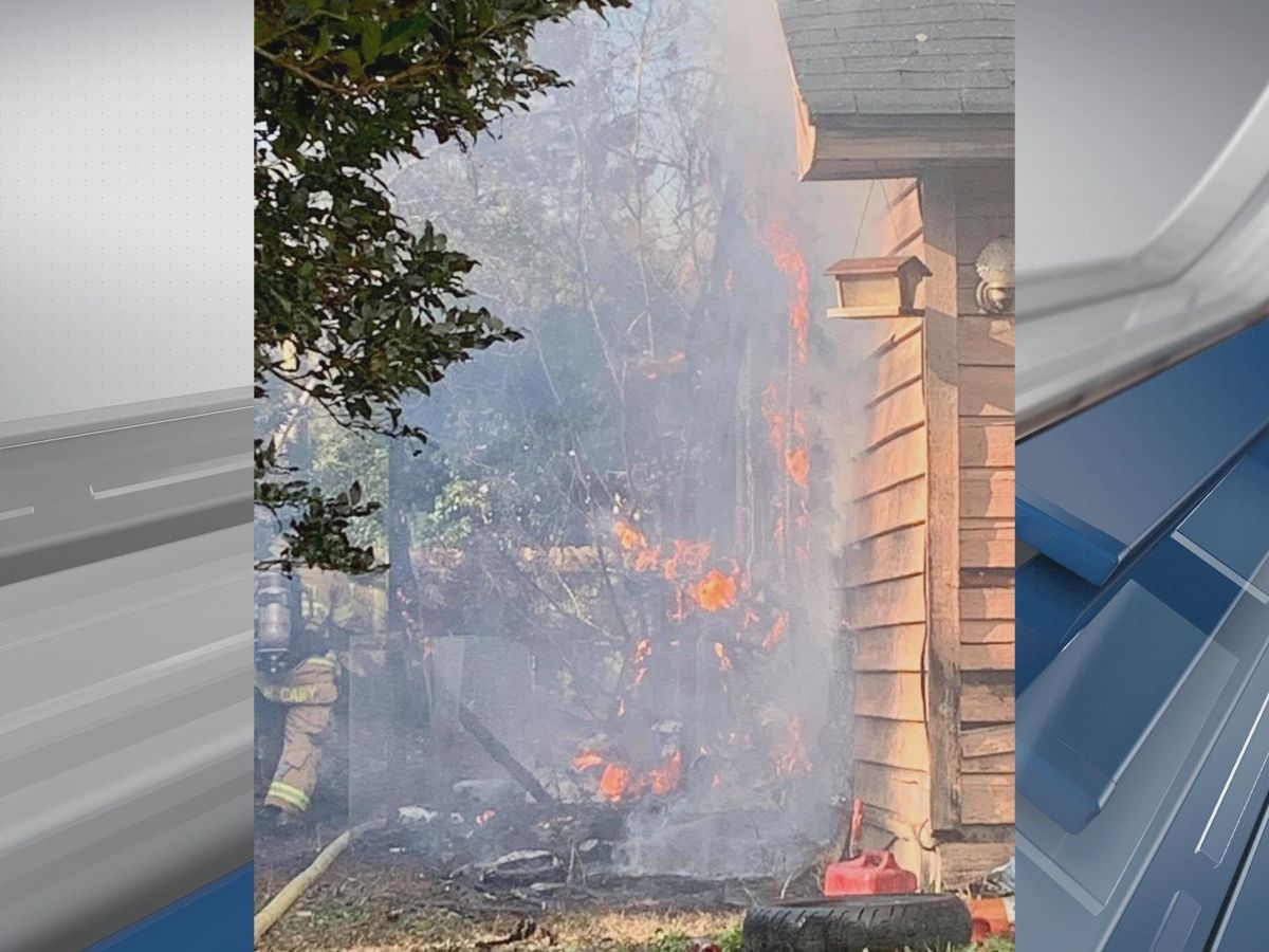 Chatham Fire responds to fire on Dovetail Crossing
