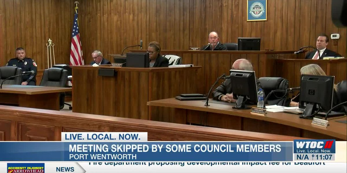 Port Wentworth city council meeting skipped my some members for second time