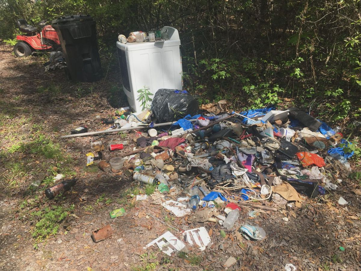 Officials warn against illegal dumping in Beaufort County