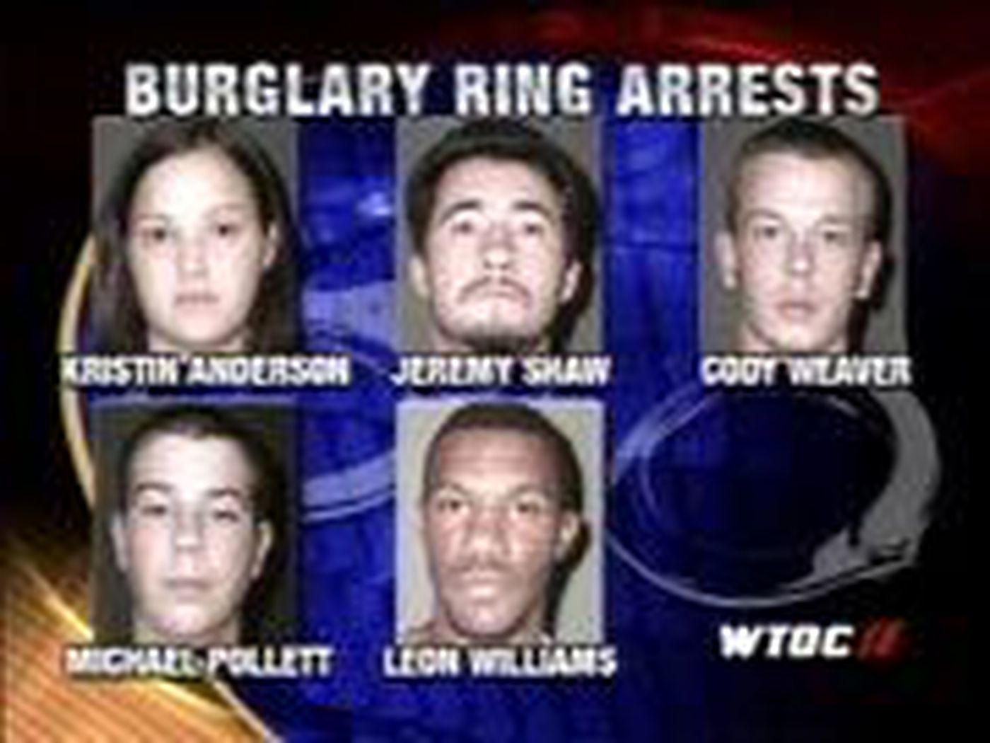 Sheriff's Department Busts Burglary Ring
