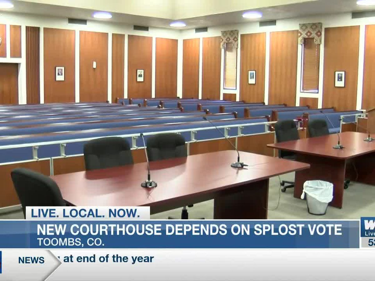 New courthouse in Toombs Co. depends on SPLOST vote