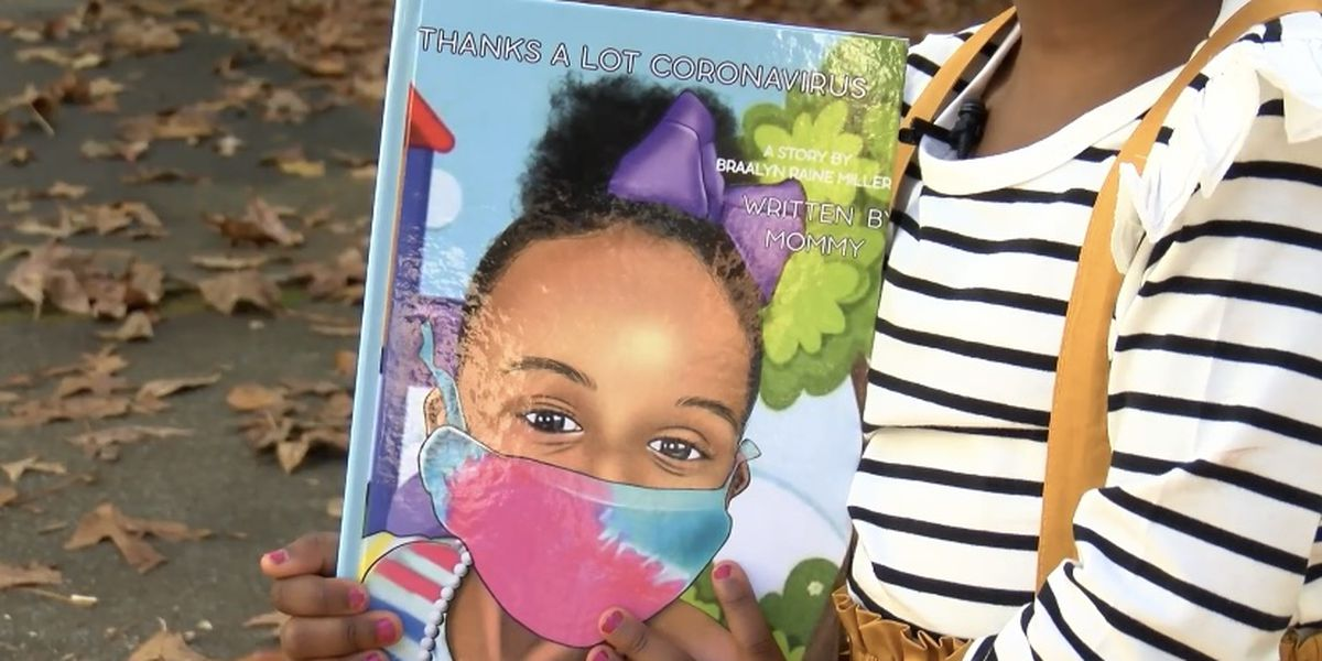 Lowcountry 4-year-old and mother write book on safe family activities to do during the pandemic