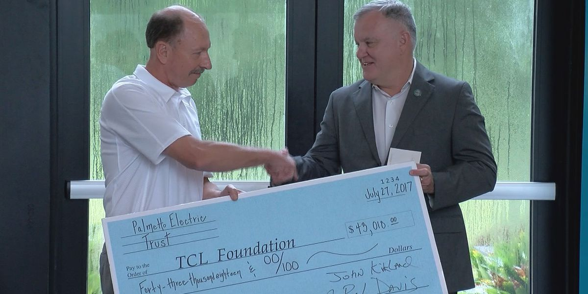 Palmetto Electric Coop donates to TCL's Criminal Justice Program