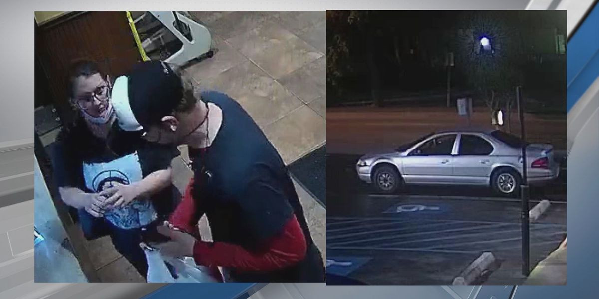 Savannah Police looking to identify suspects in theft at fast food restaurant