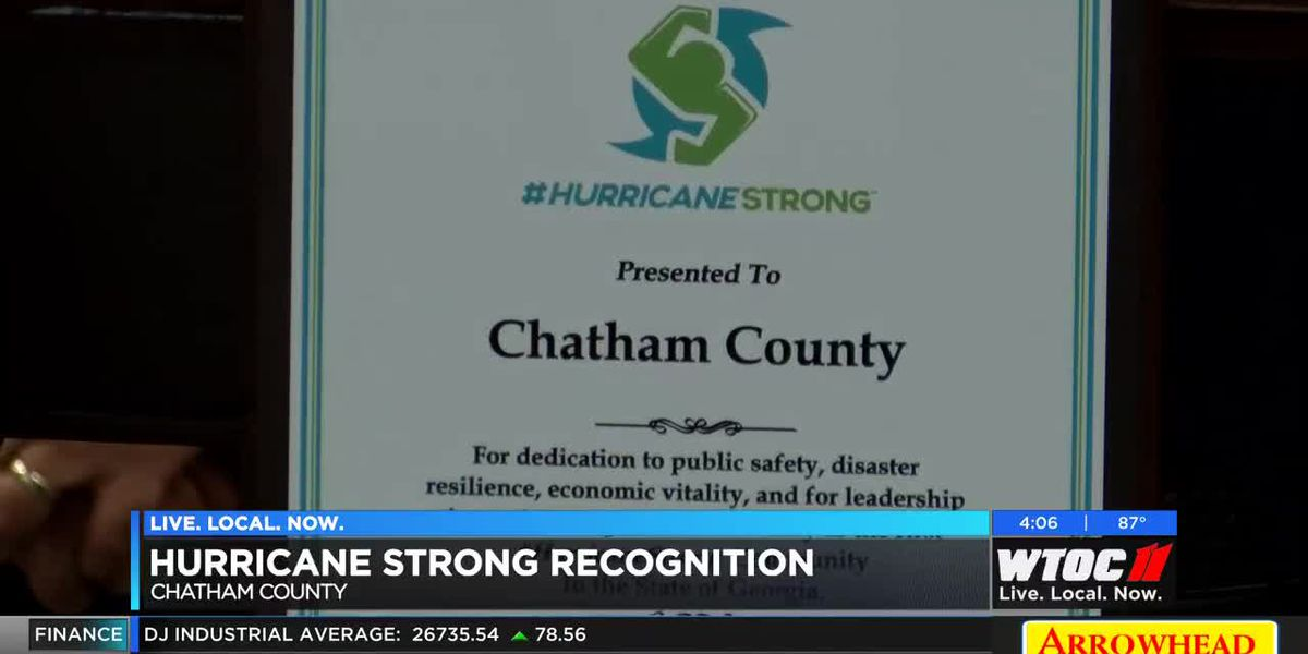 Chatham County receives 'Hurricane Strong' designation