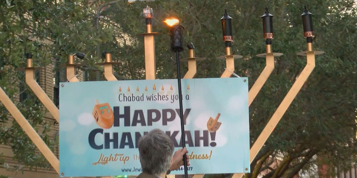 3rd annual Chanukah celebration