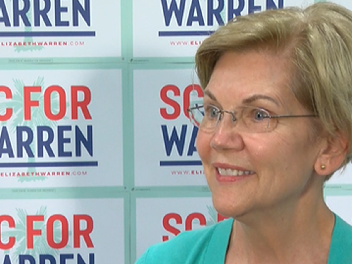 Campaigning in SC Elizabeth Warren says plans have bipartisan appeal, the key is talking