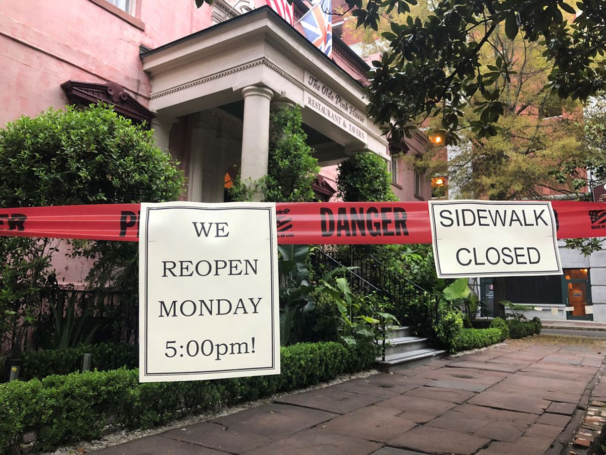 The Olde Pink House set to reopen Monday after December fire damaged restaurant