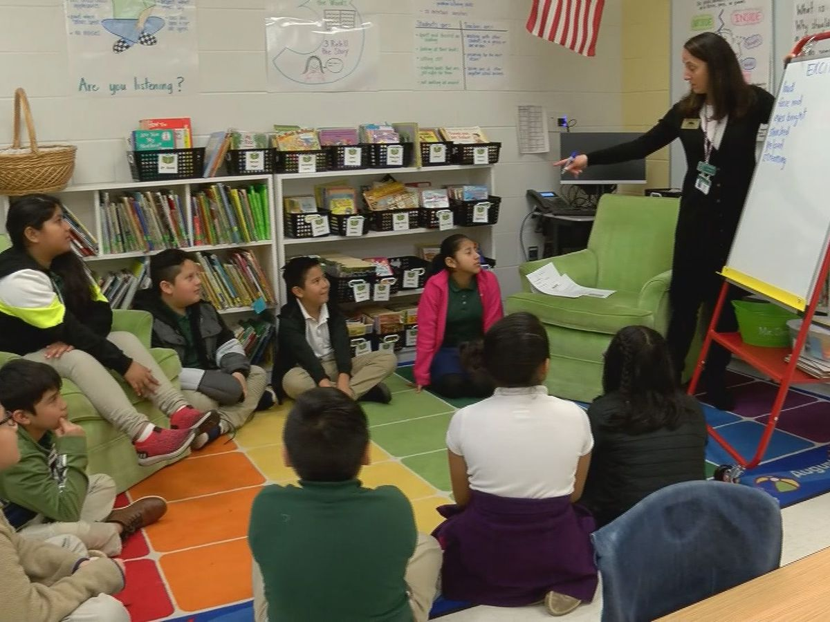 Look inside the SCCPSS Teacher of the Year's classroom