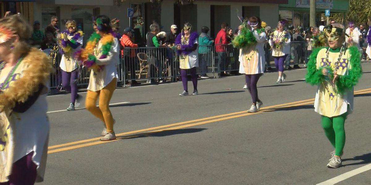 Hundreds attend Mardis Gras celebration on Tybee Island