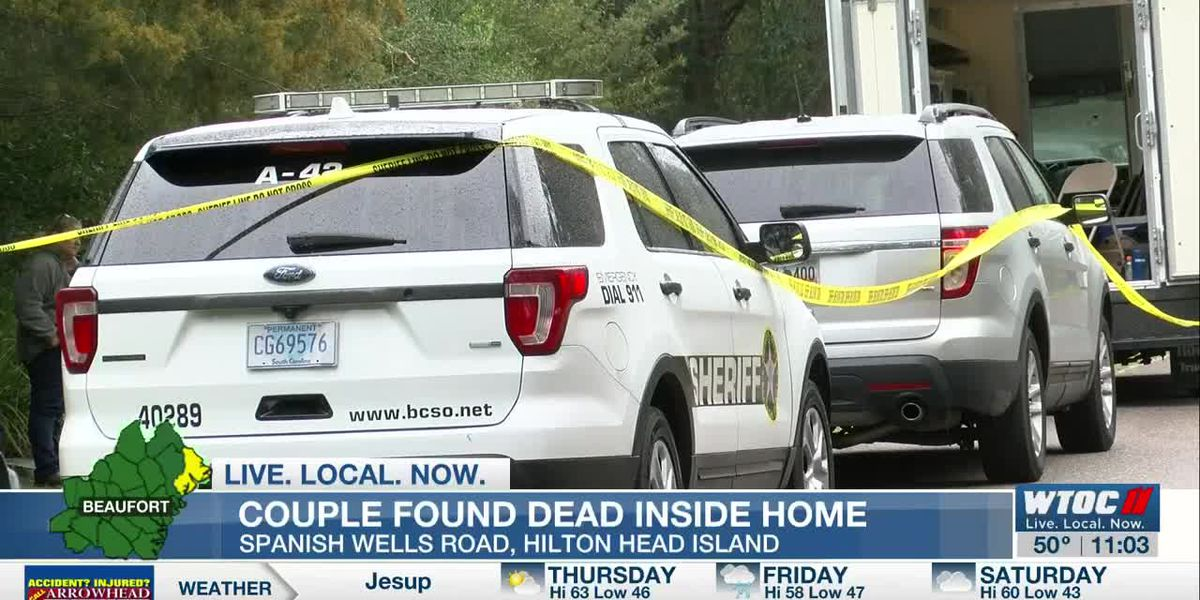 Bodies of married couple found in Hilton Head Island home