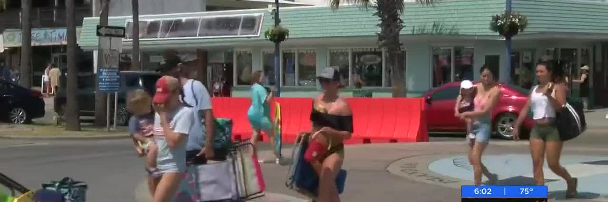 Fourth of July brings large crowds to Tybee Island