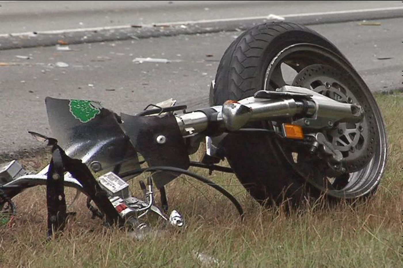 Deadly Motorcycle Accident on I-95