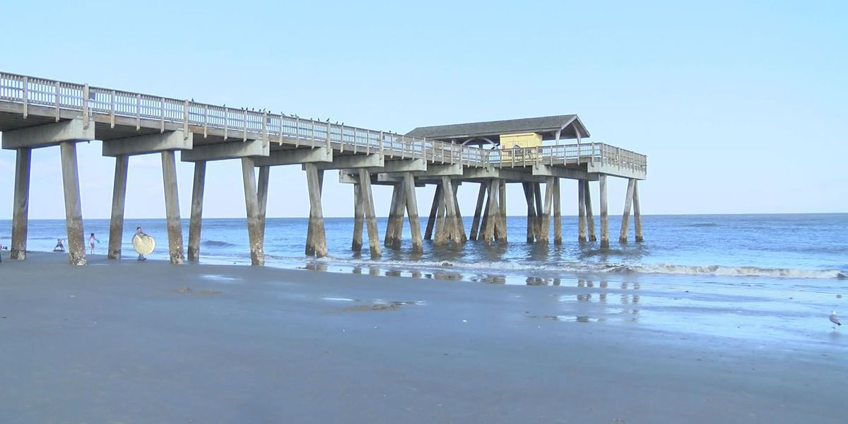 Tybee Police investigate after pier vandalized for second time