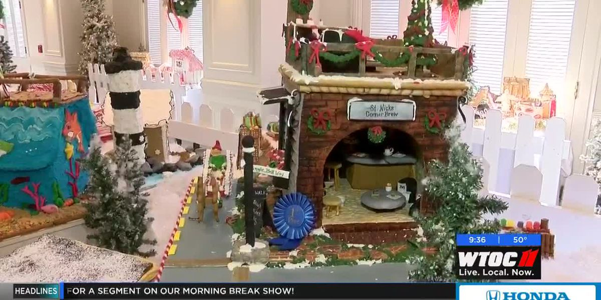 Gingerbread Houses at the Westin Savannah Harbor