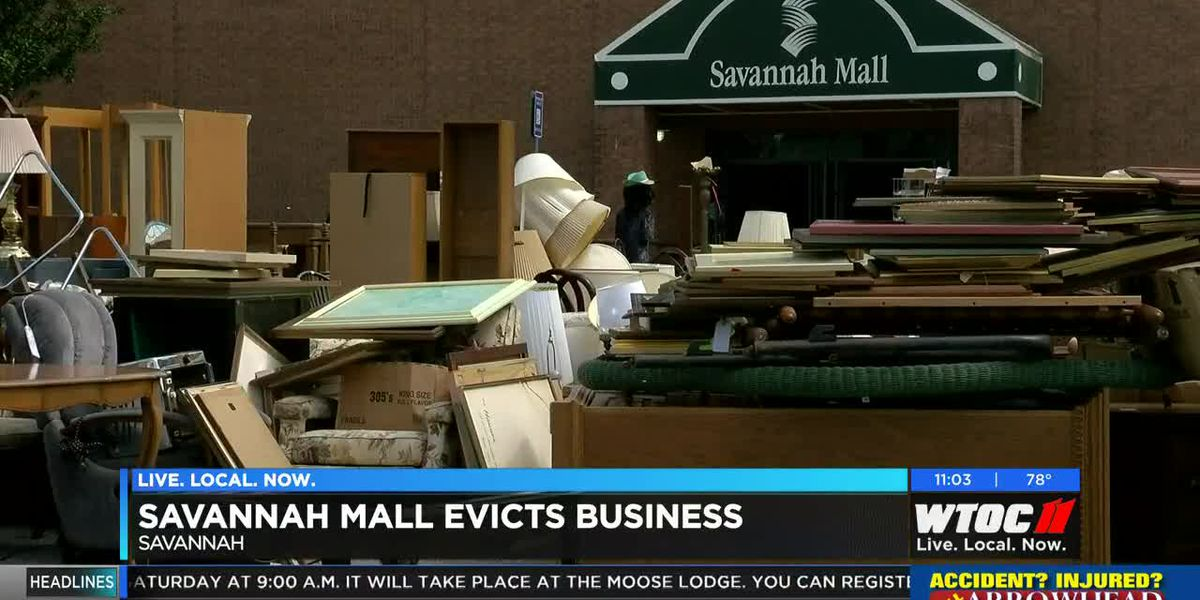 Store owned by Alderman Thomas evicted from Savannah Mall