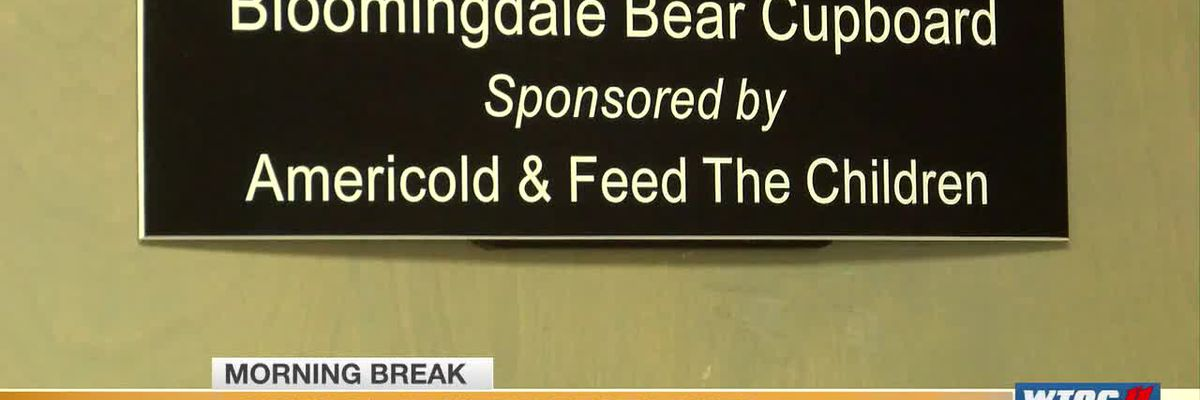 Bloomingdale school food pantry restocked