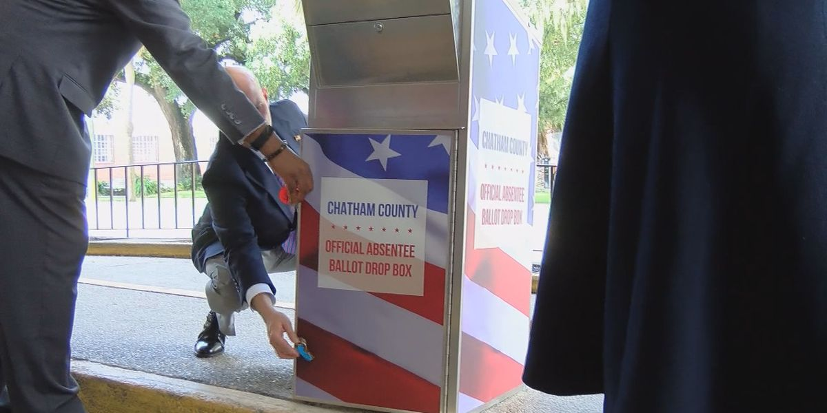 Locations of new absentee ballot drop boxes in Chatham Co.