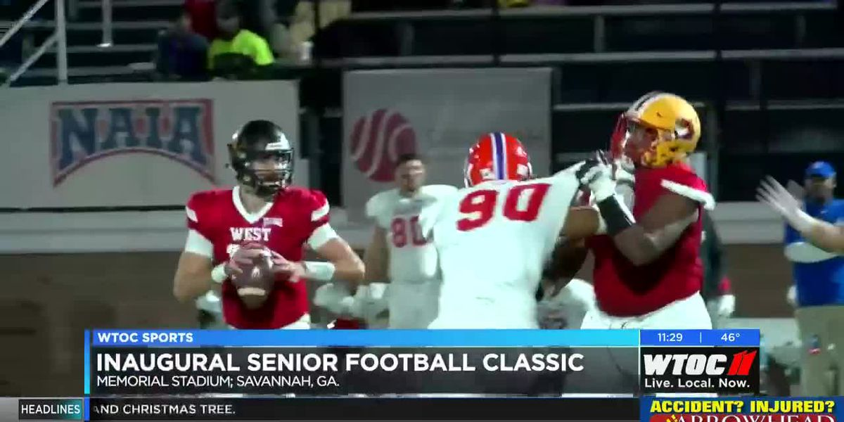 West Team wins first NAIA Senior Football Classic