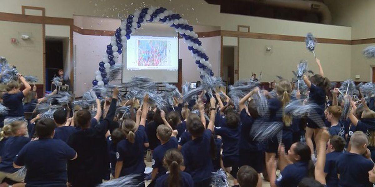 St. James Catholic School receives 2018 National Blue Ribbon Award