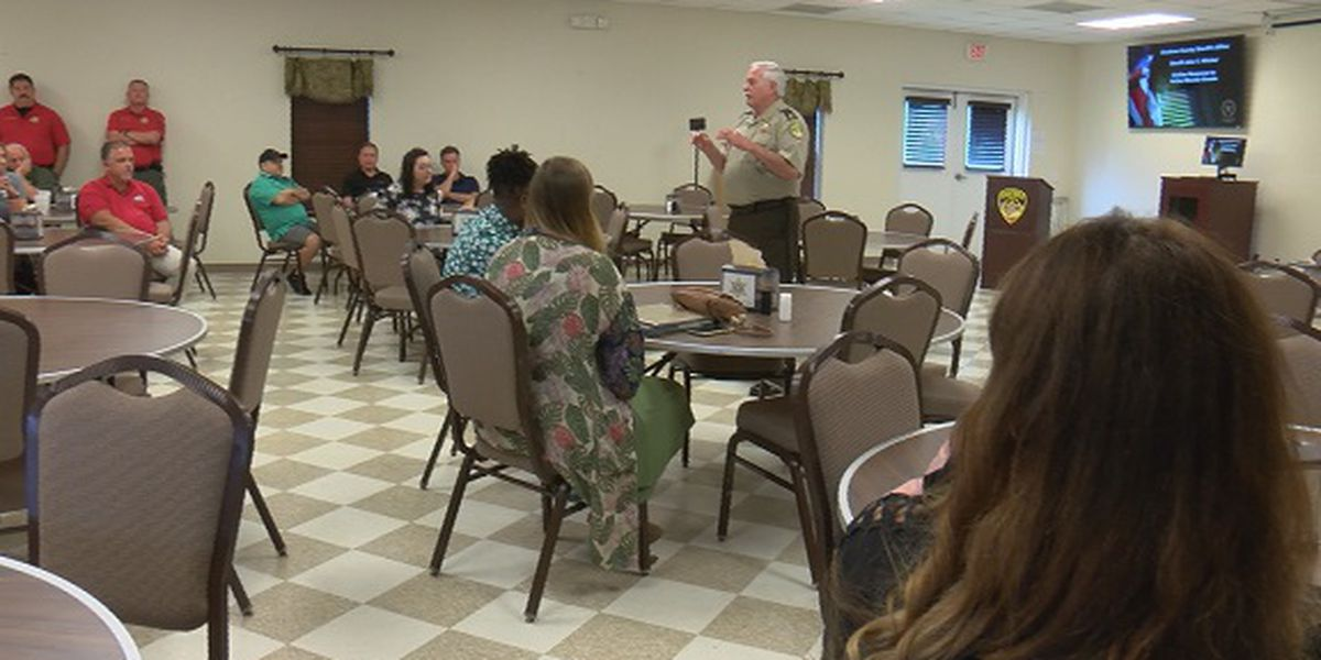 Chatham County Sheriff's Office hosts active shooter 'Lunch 'n' Learn'
