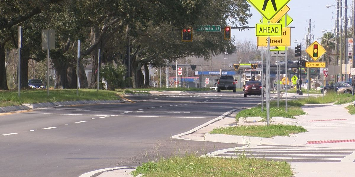 West Bay Street widening, improvements near completion